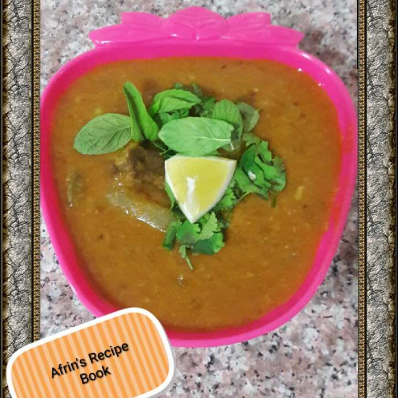 Dal  Gosht ( Mutton Recipe)