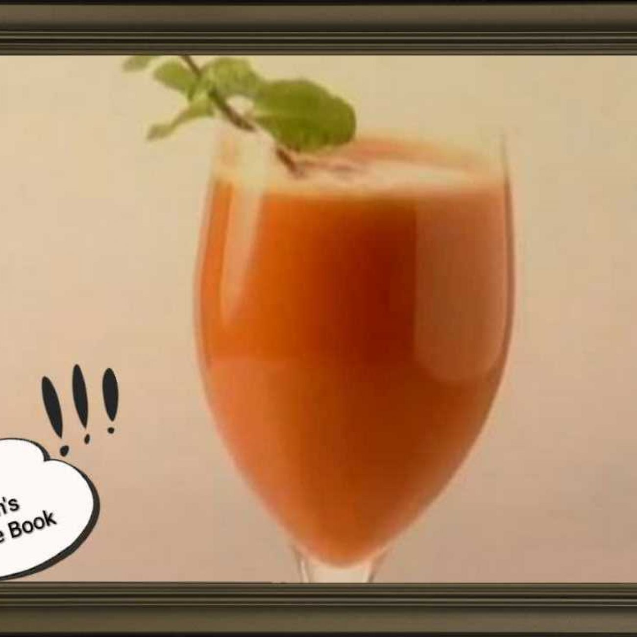 Mixed Fruit & Carrot Juice
