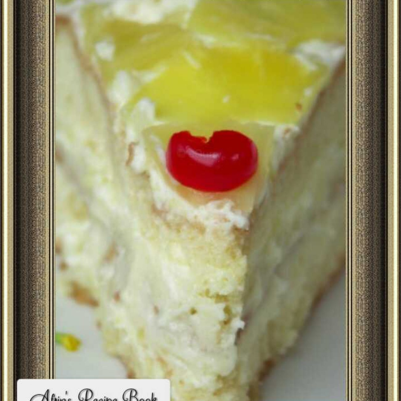 Pineapple Cake Pastry