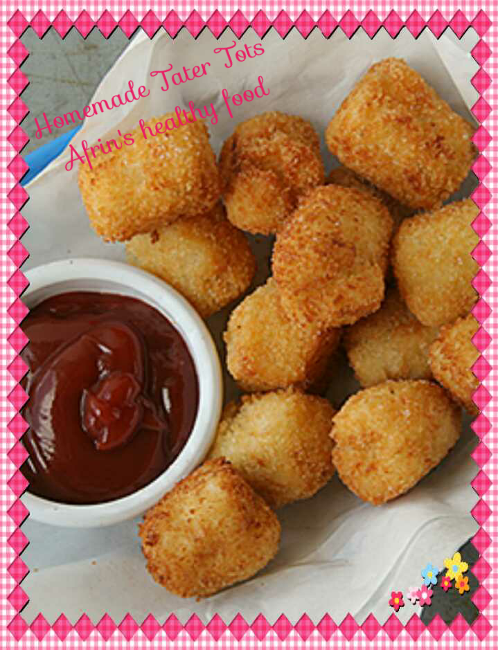 Homemade Potato Tots ( Tater Tots)