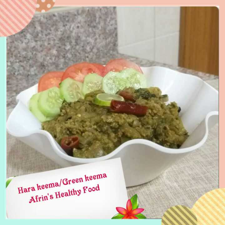 Hara Keema/ Green Keema Recipe
